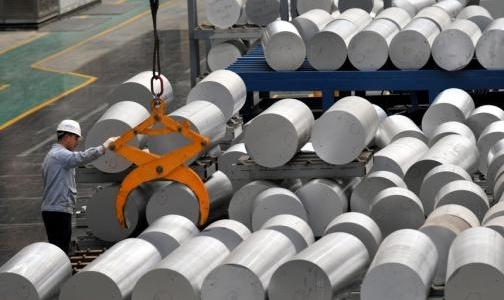 国家统计局:中国6月铝产量同比增0.8%至283万吨