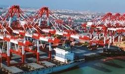 """青岛港输油管道二期试运行 实现原油""""门到门""""全程物流服务"""