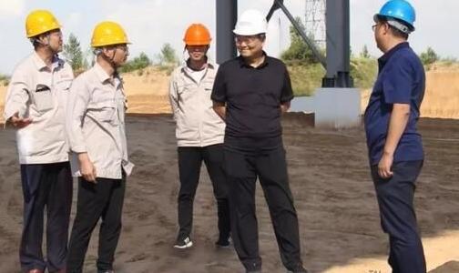 陕西有色榆林新材料集团陈涛董事长莅临铁路运销公司实地视察