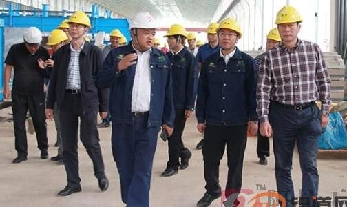云南冶金集团股份有限公司总经理孙勇调研绿色低碳水电铝加工一体化鹤庆项目