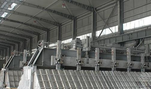 中孚铝业公司电解生产持续向好