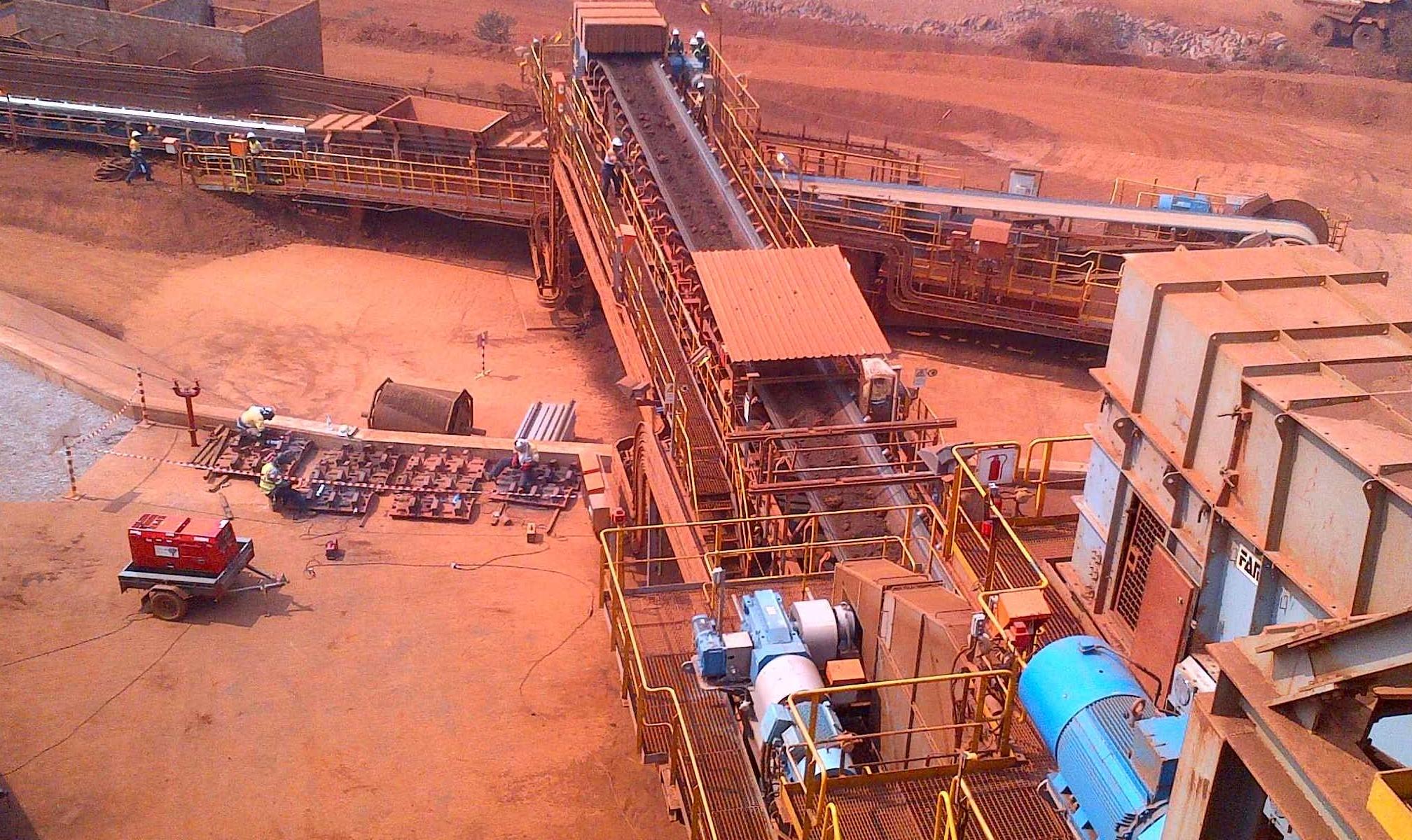 中国恩菲首度亮相南非国际矿业展览会