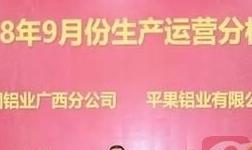 中铝广西分公司召开9月份生产运营分析会