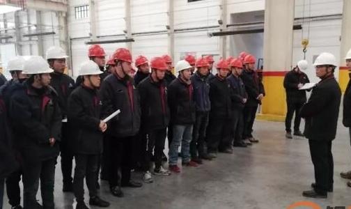 国鑫铝业公司领导深入一线进行安全生产督导工作