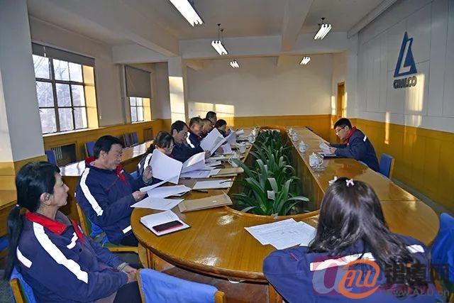 西北铝组 织召开2018年度中级专业技术职务任职资格评审会