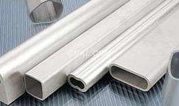 工业铝型材挤压过程中温度的变化