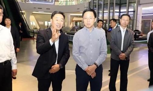 惠新安到臨朐縣調研經濟社會發展情況