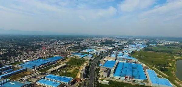 """這里是""""三宜""""美麗新鞏義—千億級鋁精深加工基地回郭鎮"""