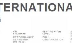 旭格公司成為建筑領域首 家獲得鋁業管理倡議ASI績效標準認證的公司