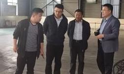 山東宏創鋁業有限公司一行蒞臨長葛市再生鋁行業協會參觀考察