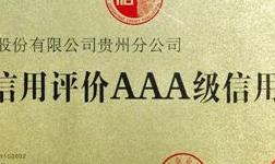 中国铝业贵州分公司获评贵州省AAA级信用企业