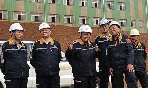 中铝股份副总裁吴茂森莅临中州铝业调研