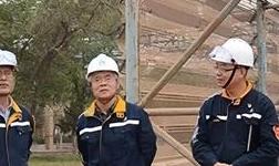 丁海燕到中州铝业进行现场调研