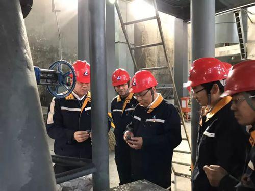 樊大林到包头铝业调研并与我院实习新员工座谈