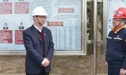 张红卫莅临中州铝业调研