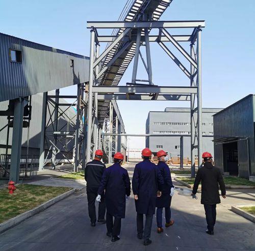 美铝商务代表团到中海集团-连云港临海炭素参观考察