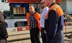 力拓集团-太平洋铝业商务代表团参观考察中海集团-连云港临海炭素