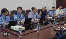 力拓集团、三菱商事客人到枣庄杰富意公司参观考察