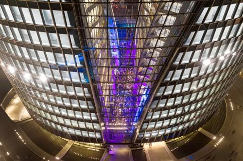 AAG亚铝幕墙艺术新作――丽泽SOHO正式开放