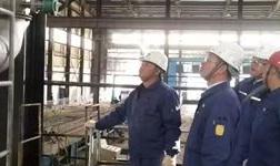 酒钢集团公司安全环保部对东兴铝业陇西分公司进行督查