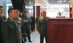 潍坊军分区司令员薛晓鹏一行来到华建铝业集团考察调研