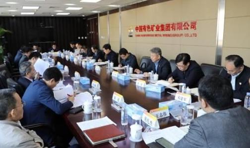中国有色集团党委召开第 一批主题教育单位整改落实情况座谈会