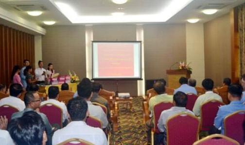 中色镍业举行2018-2019缅甸财年上半年社会责任(CSR)捐赠仪式