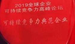 """中国有色集团荣获""""可持续竞争力典范企业""""奖"""