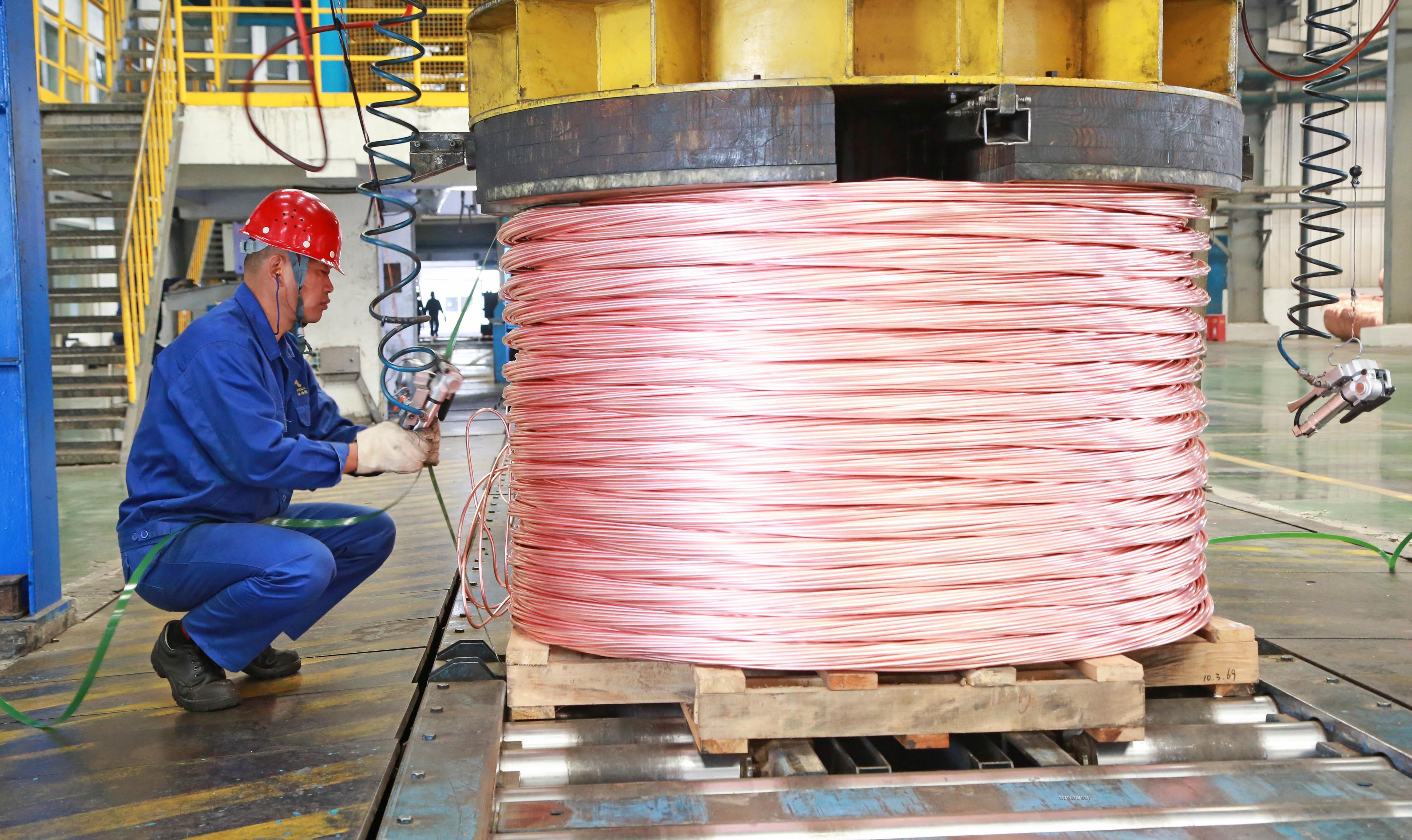 铜冠铜材公司运行保平稳 产量创新高