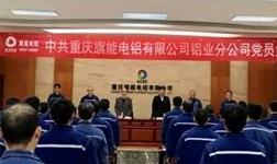 """铝业分公司召开党员大会,选举产生新一届""""两委""""委员"""