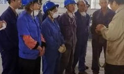 铝合金双相钢事业部对行车操作人员进行技能培训