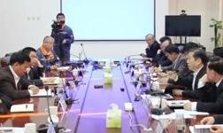 陈德荣到宝武铝业调研,与刘南昌、刘银志会谈