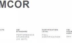 安姆科软包装公司多个设施通过铝业管理倡议ASI绩效标准认证