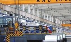 东兴铝业公司天成彩铝公司加强作业现场环境整治