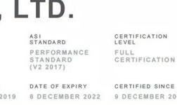 山东南山铝业股份有限公司铝产业链顺利通过ASI绩效标准认证