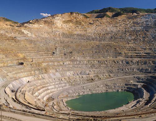 Escondida铜矿产量下滑,因矿石品位下降