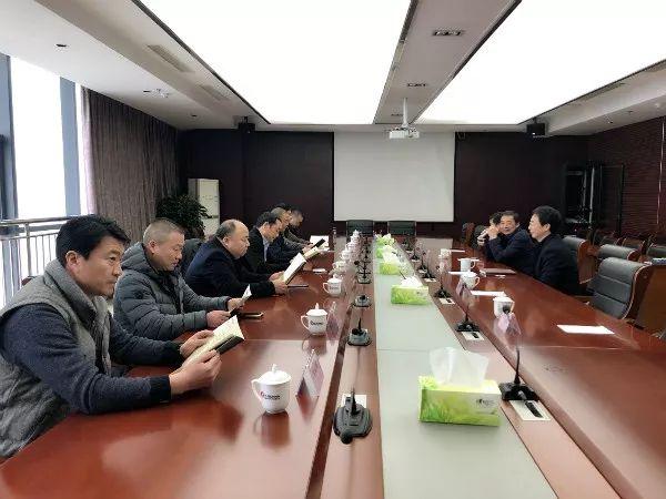 长葛市再生铝行业协会一行前往安徽省江南产业集中区参观考察