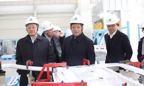 葛红林与浙江省委常委、杭州市委书记周江勇会谈并调研中铝驻杭企业