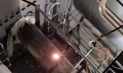 国家电投遵义公司热电厂1#锅炉低温烘炉点火成功