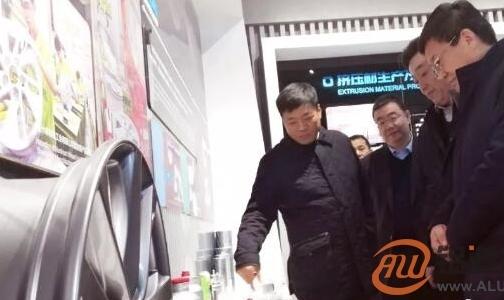佘春明到邹平调研时指出:推动工业创新发展 为建设富强滨州作出贡献