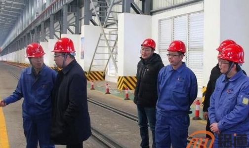 甘肃团省委书记赵立香来东兴铝业公司调研
