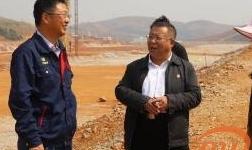 文山市委书记李云龙到文山铝业公司调研