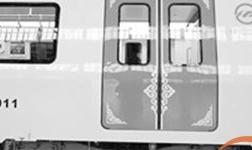 国内*轻铝合金地铁列车下线