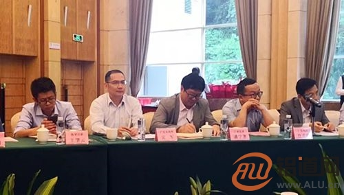 广亚铝业受邀参加有色金属加工工业协会广东铝企代表座谈会