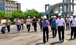 安阳市建设科技门窗幕墙专委会领导莅临海皇新科考察指导