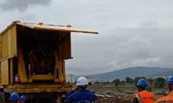 天水有轨电车开始进行槽型轨焊接