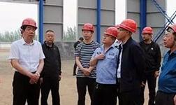 孔保宝在繁峙县经济技术开发区调研