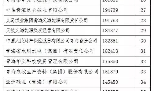 """西部矿业连续14年蝉联""""青海省企业50强""""榜首"""