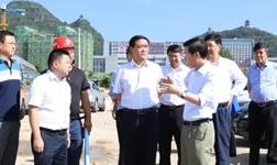 """赵贡桥率队赴西秀区开展重大项目重点工作""""回头看""""督导督察"""