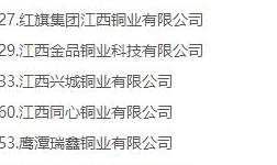 """18家铜企业入围""""2019浙商全国500强"""""""